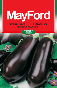 Florida Market Oval - Purple/Black Eggplant Seeds (Prices From)