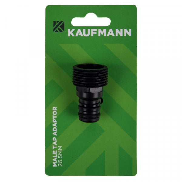 KAUFMANN TAP ADAPTOR MALE 19-20MM INT / 26.5MM EXT