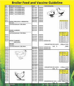 Broiler Starter Crumbs/Pellets  (Prices from)