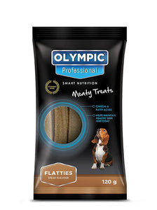 Flatties Treats (Steak Flavour) 120g