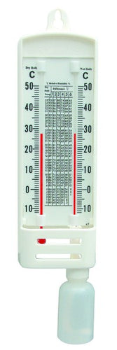 Wet & Dry Bulb Humidity Instrument