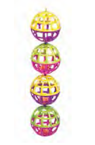4 Lattice Ball With Bell