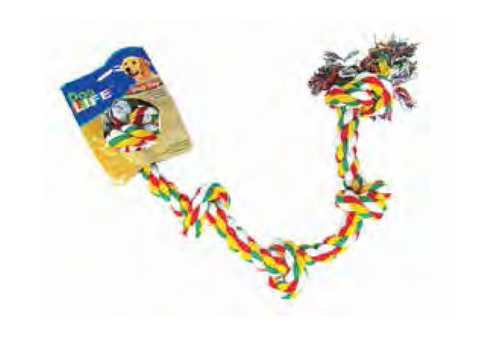 5 Knot Monster Rope Toy