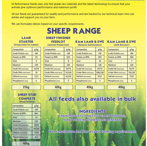 Sheep Stud Lucern with Diatoms Meal 40kg