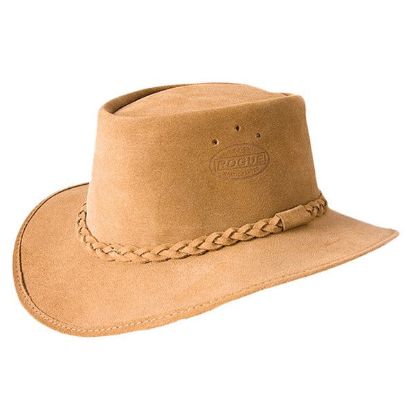 ROGUE HAT ORIGINAL BUSH SUEDE KHAKI