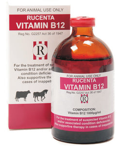 Rucenta Vitamin B12 Inj 100ml