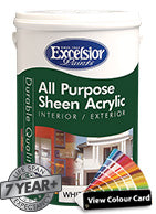 ALL PURPOSE SHEEN ACRYLIC COLOURS (Prices From)