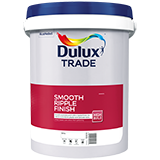 Dulux Trade Smooth Ripple Finish White