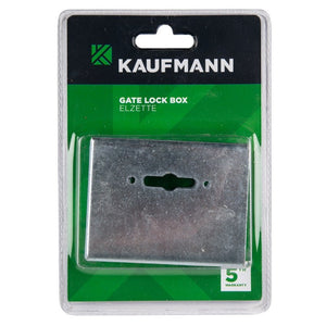 KAUFMANN STEEL BOX FOR ELZETTE GATE LOCK