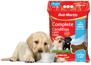 Bob Martin Puppy Dry Food with Chicken & Rice 1.5kg
