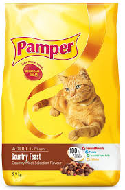 Pamper Dry Food
