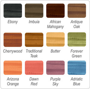Woodoc Gel Stain - Colours