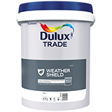 Dulux Trade Weathershield Smooth White