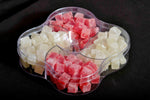 Red & white 4 in one Gift hampers (Jelly cube with sugar coated) - lonavalafood