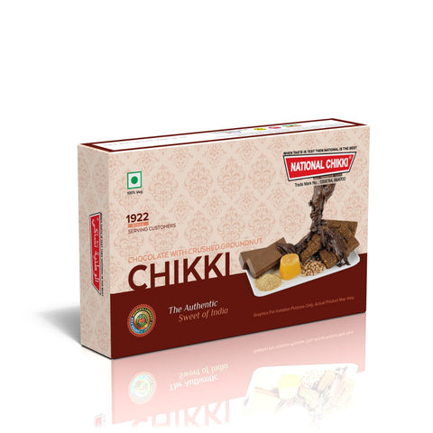 National's Chocolate Crush Groundnut Chikki - lonavalafood