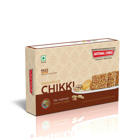 National's  Groundnut Chikki - lonavalafood