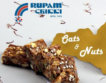 Rupam Oats and Nuts Chikki - lonavalafood