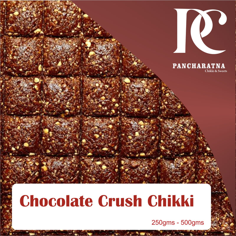 Pancharatna Chocolate Crush Chikki