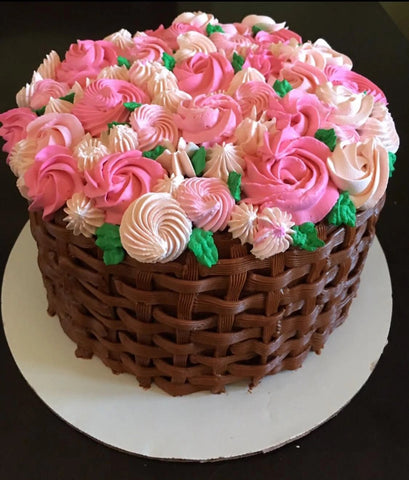 Flower Basket Cake (Only for Lonavala & Khandala) - lonavalafood