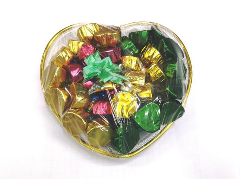 Homemade Chocolate Gifting in HEART shape basket (Chocohut) - lonavalafood