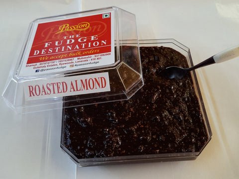 Passion's Roasted Almond Fudge