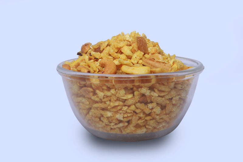 Rice Flakes (Poha) Chivda with Dry Fruits