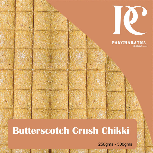 Pancharatna Butterscotch Crush Chikki