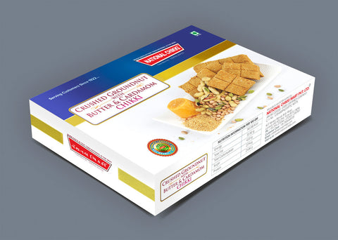 National's Sp. Crush Groundnut Chikki (With Butter & Cardamon) - lonavalafood