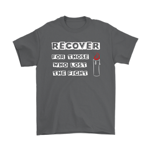 """Recover For Those Who Lost The Fight"" Original Design Unisex T-Shirt"