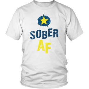It wasn't easy but you're Sober AF - and Proud AF about it!