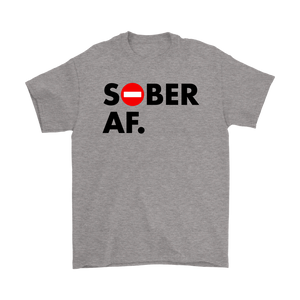 Shout it out: you're Sober AF - and Proud AF about it!