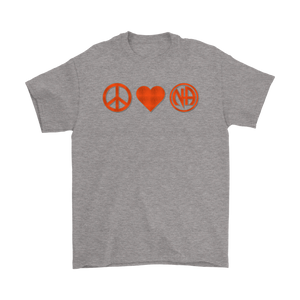 Peace, Love, and NA t-shirt