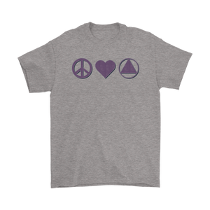 Peace, Love, and AA T-Shirt