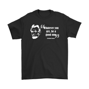 Abraham Lincoln recovery-themed quote unisex t-shirt