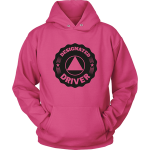 "Alcoholics Anonymous 'NA' Logo ""Designated Driver"" Hoodie"