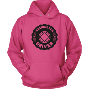 "Narcotics Anonymous ""Designated Driver"" NA logo original design unisex hoodie"