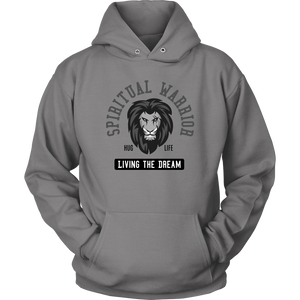 """Spiritual Warrior"" Hoodie - Working a 12-Step Program and Helping Others!"