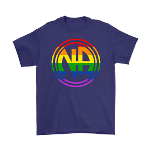 LGBTQ Narcotics Anonymous Pride T-Shirt - Purple