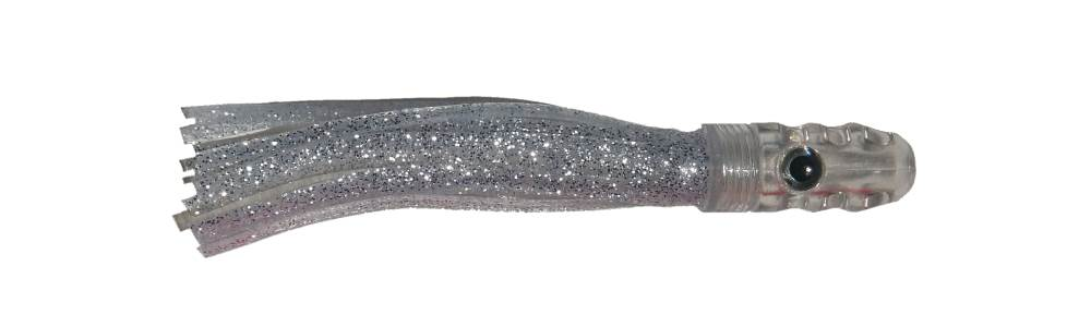 Scent Blazer atom 4½ inch or 11cm skirted trolling lure.