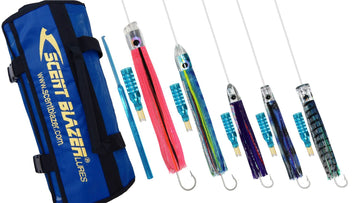 Oceanic Game Fishing Lure Pack.