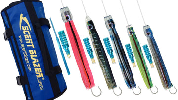 Baja Billfish Game Fishing Lure Pack.