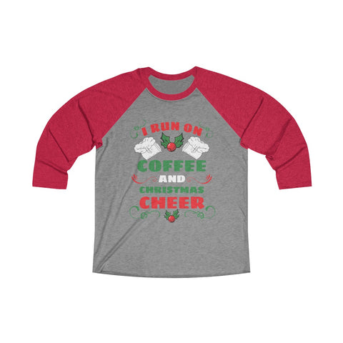 Coffee and Cheer! 3/4 Raglan Tee