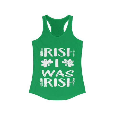 I WISH  Women's Ideal Racerback Tank
