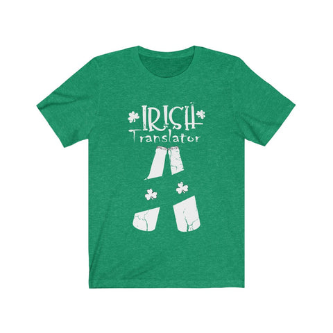 IRISH TRANSLATOR  Unisex Jersey Short Sleeve Tee