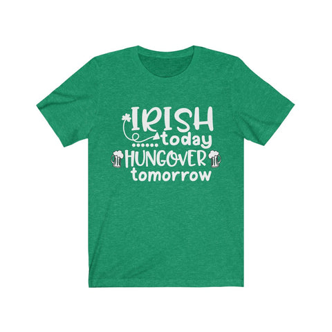 IRISH TODAY Unisex Jersey Short Sleeve Tee