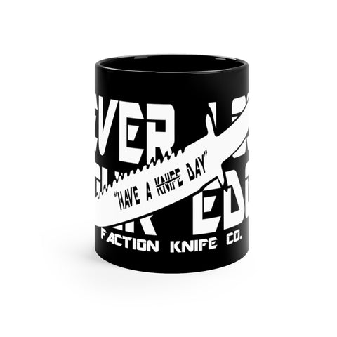 FACTION 3 Black mug 11oz