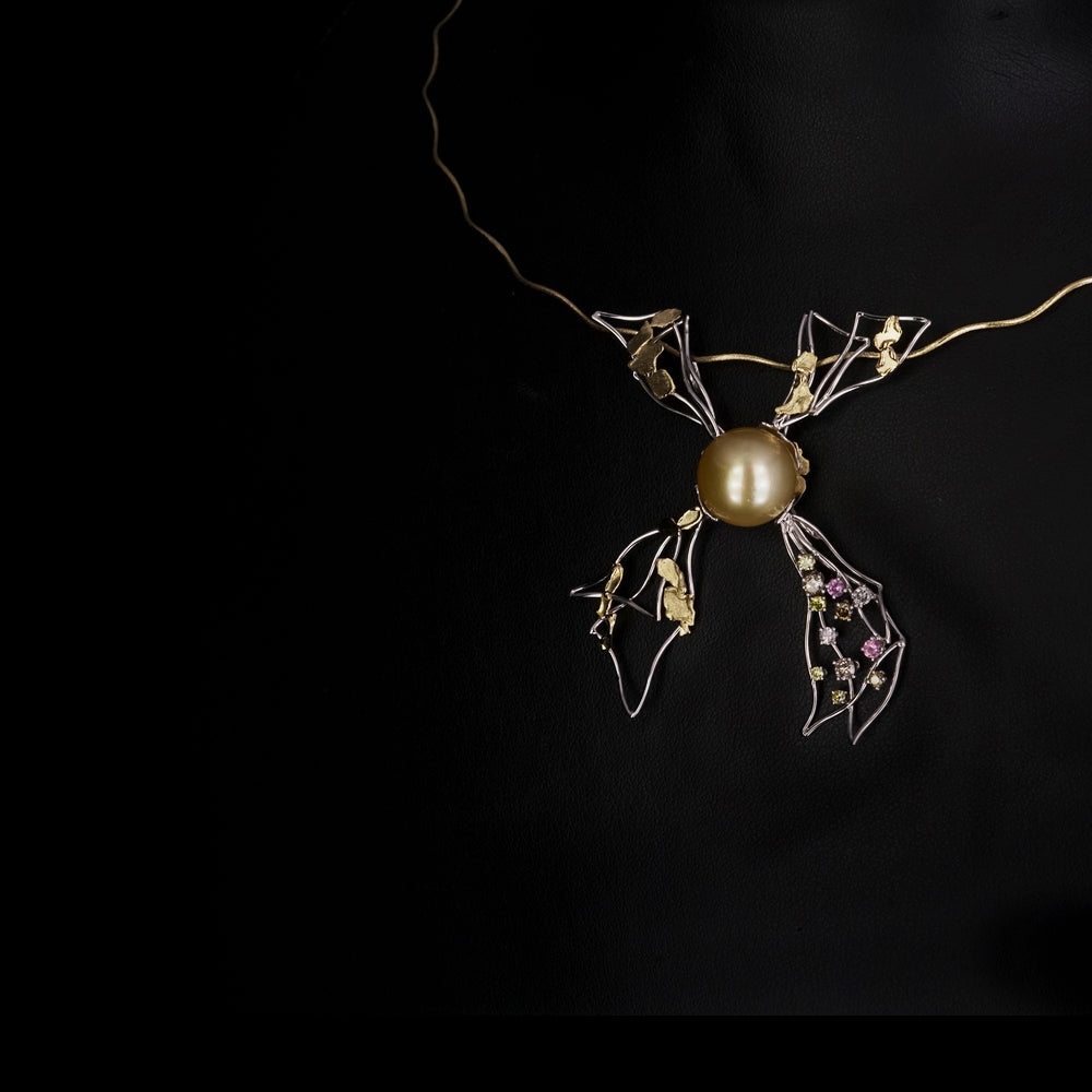 The necklaces inspired by nature...