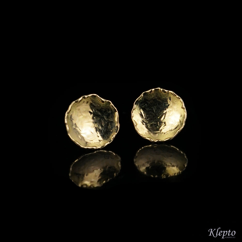 Teresina yellow gold earrings