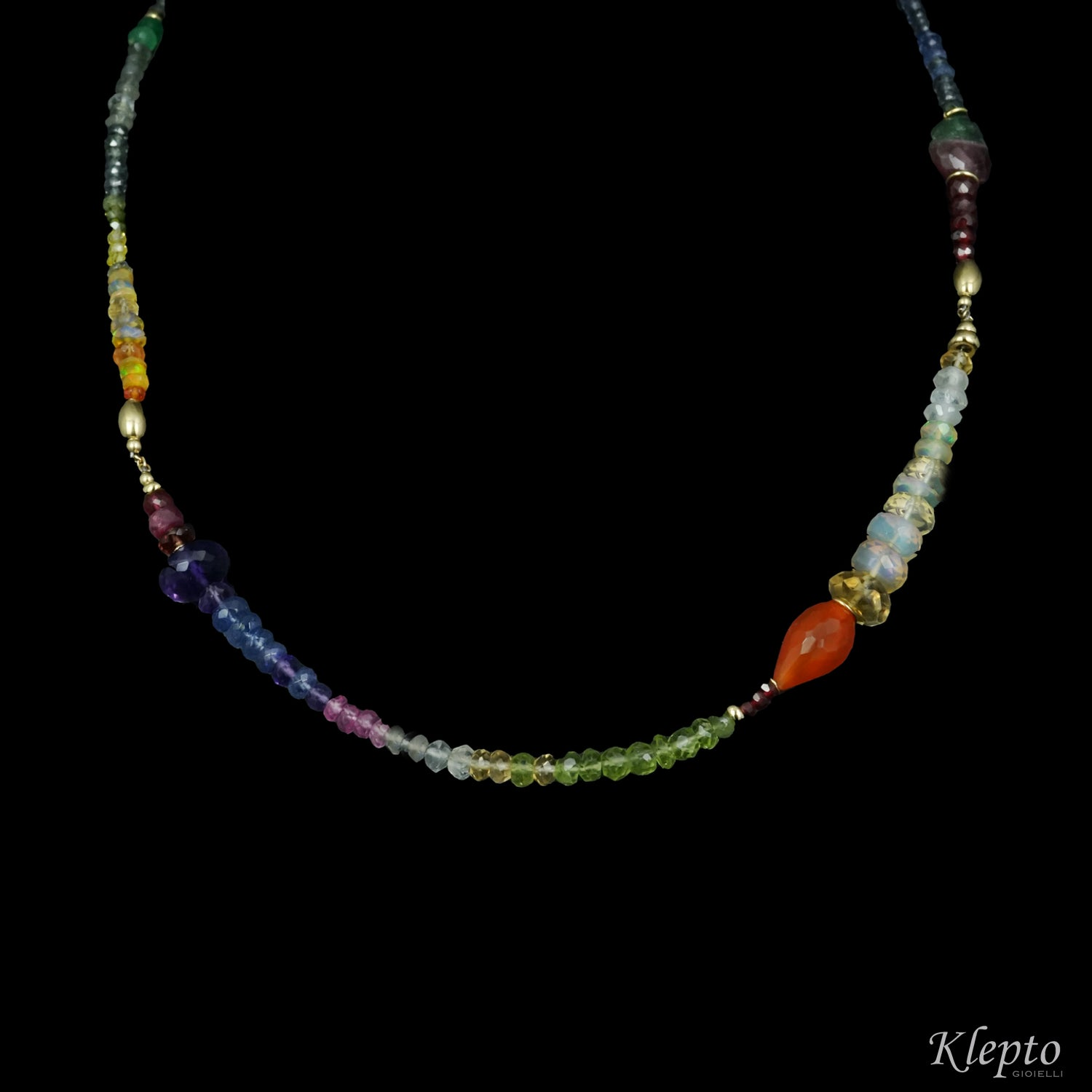 Short Rainbow necklace