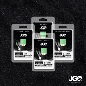 JGO 375mg JUUL pods